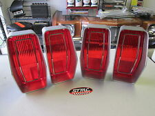 1970 70 CUTLASS SUPREME NEW PAIR OF CORRECT TAILLIGHT LENSES TAIL LIGHT LENS