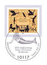 BRD 2005: Hans Christian Andersen Nr. 2453 mit Berliner Ersttagsstempel 1A 1909