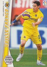 N°360 GUILLE FRANCO # VILLARREAL.CF TRADING CARD PANINI MEGA CRACKS LIGA 2009
