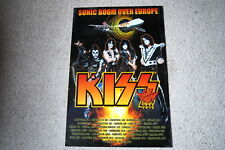 KISS SONIC BOOM OVER EUROPE TOUR 2010 POSTER RARE OFFICIAL NEW GENE SIMMONS