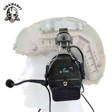 Z Tactical Comtac I Anti Noise Headset W/ Rail Adapter For FAST Helmet Headphone