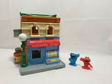 Sesame Street Workshop Hoopers Store Shop House Kids Playset Great Condition
