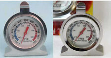 Stainless Steel Temperature Oven Thermometer Gauge Kitchen Food Meat Dial