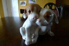 Royal Copenhagen Pair of Puppies together No 260, Old Piece