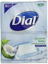 Dial Glycerin Soap Bars Coconut Water & Bamboo Leaf Extract 4 Oz, 8 Each, 1 Pack