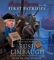 Rush Revere and the First Patriots: Time-Travel Adventures CD AUDIOBOOK Limbaugh