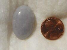 Lavender Jade Jadeite 49.31 Carats 18.49x28.52x9.37 MM. Oval Cab Grayish