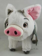 "New Disney Store Exclusive Authentic Moana Pua Pig 9 1/2"" Plush Toy Doll Small"