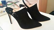 Velcro High (3 in. to 4.5 in.) Suede Heels for Women