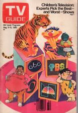 1980 TV Guide August 9 - Children's TV; Nancy Addison - Ryan's Hope; Jeffersons