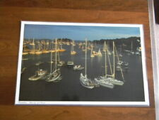 Set of 4 Reversible Placemats CAMDEN MAINE by Photographer Neal Parent - New