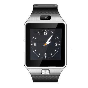 SmartWatch Bluetooth Armbanduhr iOS Android Smartphone Kamera MicroSD 8GB Gratis