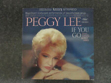 PEGGY LEE Vinyl LP IF YOU GO (ED 26 0412 1)  reissue 2 disc rare test pressing