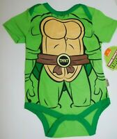 Infant Boy 0 3 6 9 Month Teenage Mutant Ninja Turtles One Piece Creeper