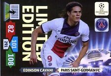 13/14 Panini Adrenalyn Champions League EXCLUSIVE Edinson Cavani Limited Edition