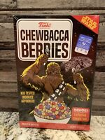 Funko Star Wars Chewbacca Berries Cereal Box SMALL Short Sleeve T-Shirt NEW
