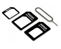 NANO MICRO KARTENADAPTER SIM KARTE ADAPTER KARTENLESER Handy Tablet UNIVERSAL Z7