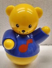 Tolo Concerto Piano Dancing Bear Replacement Weeble Wobble Style Figurine Toy