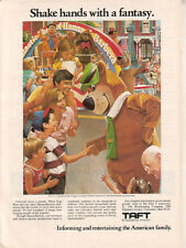 Yogi Bear Fred Flintstone & Hanna-Barbera characters 1979 Ad- Taft Broadcasting