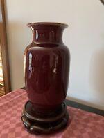 Vintage Chinese sang De Boeuf Vase