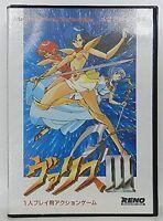 VALIS III 3 Mega Drive SEGA Import JAPAN Game md