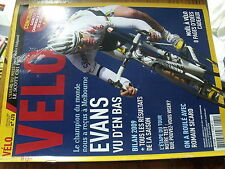µ? Revue Velo magazine n°470 Bilan 2009 + resultats EVANS 6 jours Paris Sicard