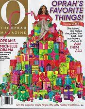 Oprah Magazine December  2018
