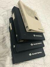 Eastern Airlines Set of 4 empty binders!!