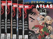 ATLAS #1-#5 SET (NM-) THE HEROIC AGE