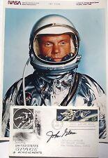 John Glenn Mercury Seven Astronaut Signed Vintage Commemorative Cover