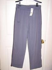 "NWT women's ""Under Armour"" Coldgear gray pants - ret. $99.99 - size Large"