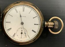 Filled Pocket Watch Antique Illinois Gold