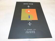 BON IVER - Publicité de magazine / Advert !!! A MILLION !!!