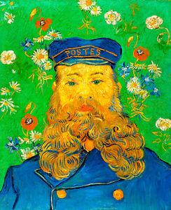 Portrait of Joseph Roulin by Vincent van Gogh 75cm x 61.3cm Canvas Print