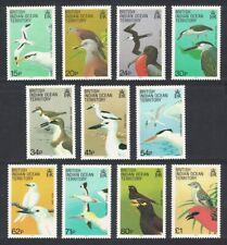 BIOT Birds 11v MNH SG#90-101