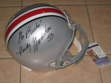 Randy Gradishar #53 signed Ohio State Buckeyes Full Size Helmet JSA OSU