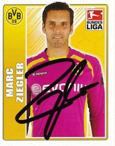 Marc Ziegler  Borussia Dortmund Topps Sticker 2009/10 signiert 402657