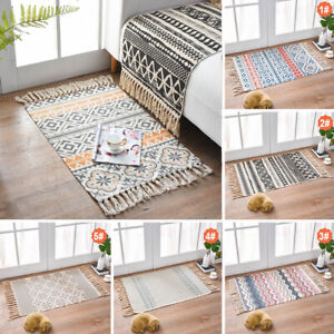 Bohème Türmatte Teppich Fußmatte Schmutzfangmatte Bodenmatte Teppiche Dekor DE