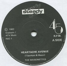 "MAISONETTES ~ HEARTACHE AVENUE / LAST ONE TO KNOW ~ 1982 UK 7"" SINGLE [Ref.2]"