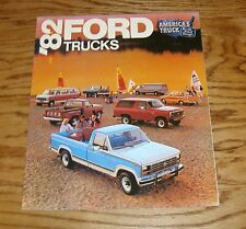 Original 1982 Ford Truck Full Line Foldout Sales Brochure 82 Bronco Pickup