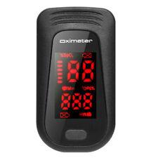 Finger Tip Pulse Oximeter Blood Oxygen Meter SpO2 O2 Heart Rate Monitor Detector