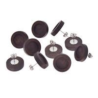 10 Pcs Wood Cabochon Cameo Stud Earring Base Settings Blank Jewelry Findings DIY
