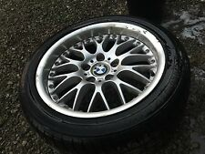 "BMW E39 BBS 17"" deep lip sport wheel rim Firestone tire 540i 530i 525i 528i 535i"