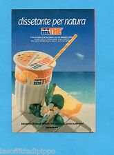 TOP989-PUBBLICITA'/ADVERTISING-1989- FERRERO - ESTA THE' LIMONE