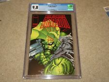 Savage Dragon #1 1st App Barbaric & Ricochet CGC 9.8 1993 Image White Pages