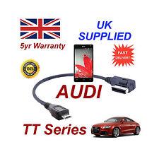 AUDI TT séries 4F0051510M pour LG Optimus G téléphone Micro USB Câble Audio 30cm