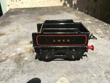 Hornby O gauge LNER black tender.