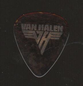 VAN HALEN EDDIE VAN HALEN Early 1980s Guitar Pick Tortoise With Grey Print