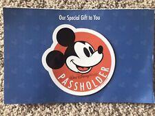 Walt Disney World Mickey Mouse Passholder Magnet