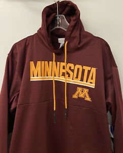 NEW CHAMPION Mens Midweight hoodie size SMALL NCAA Minnesota Golden Gophers